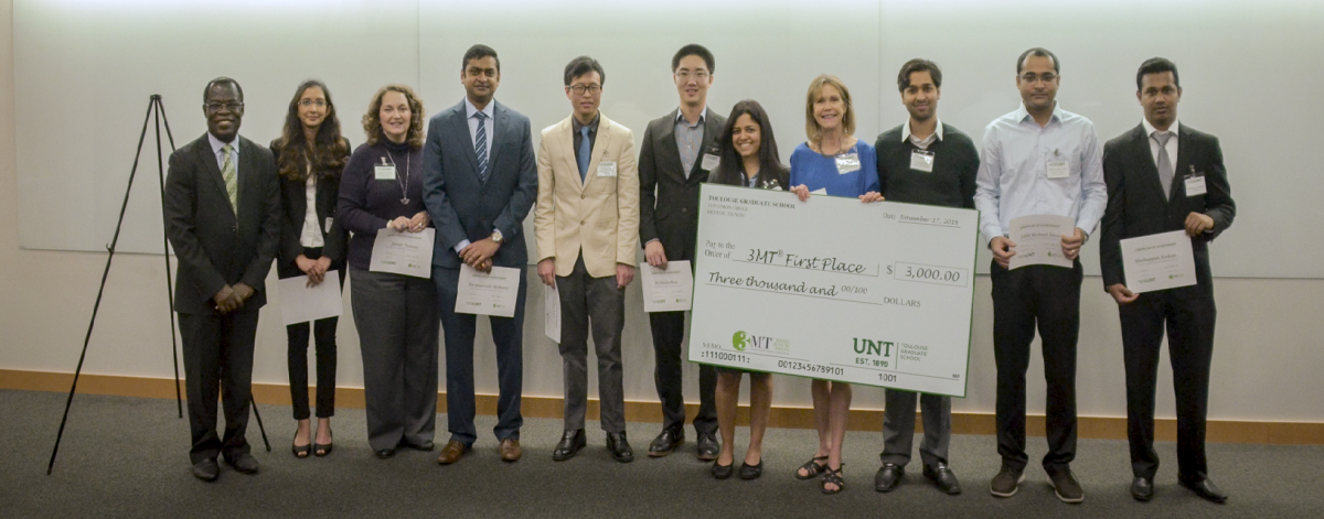 3MT Winners Fall 2018