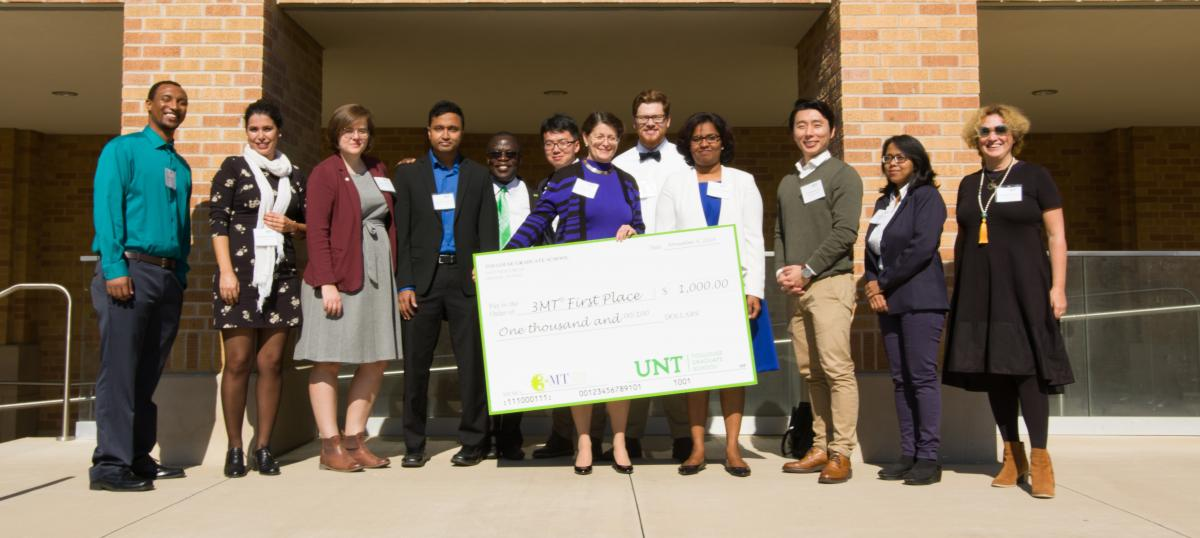 3MT Winners Fall 2019