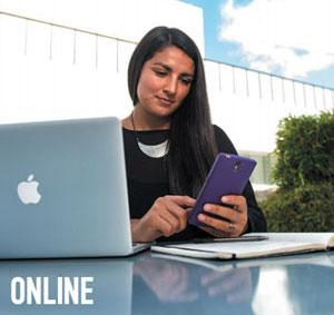 Online at UNT